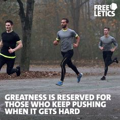 You want to achieve greatness? You only have one choice. Don't settle for mediocrity and when it gets hard keep pushing because that is the only way to improve. ►►► www.frltcs.com/Athete #Freeletics