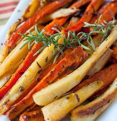 Roasted Carrots and Parsnips Recipe - RecipeChart.com