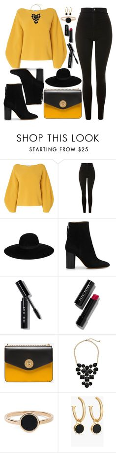"""""""Untitled #4724"""" by natalyasidunova ❤ liked on Polyvore featuring L.K.Bennett, Topshop, Maison Michel, Isabel Marant, Bobbi Brown Cosmetics, Bally, Gabriella Rocha and Chico's"""