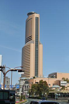 Hamamatsu Act Tower, Shizuoka, Japan 浜松アクトタワー Hamamatsu, Shizuoka, First Choice, Nihon, Willis Tower, Nice View, Places Ive Been, Japan, Explore
