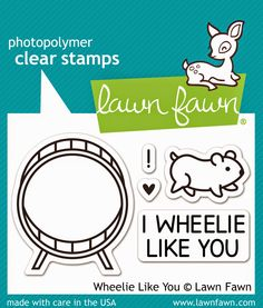 """""""Wheelie Like You"""" stamps-the Lawn Fawn blog: CHA Sneak Week 2015 - Day 1"""
