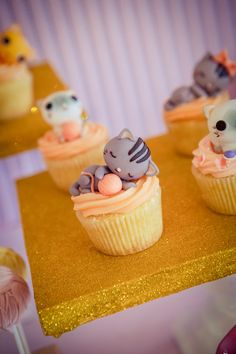 Jodie's Vintage Kitty Cat Themed Party – Sweet treats