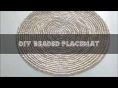 Glam Bead Drink Coaster | Easy DIY Project | Another Coaster Friday | Craft Klatch | How To - YouTube