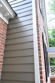 ranch house red brick and siding color combinations Google
