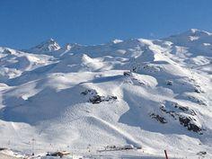 Val Thorens, les pistes, le ski, le soleil ...