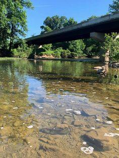Hedgesville, West Virginia, Allensville area Back Creek bridge. West Virginia
