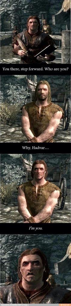 Hadvar has a twin...oh no