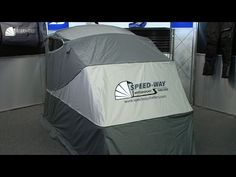 Easily accessible and great for outdoors, Speed-Way Motor Shelters Motorcycle Cover is the real deal for people looking for a more permanent motorcycle cover...