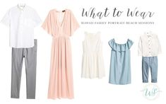 A beautiful long, flowy dress for mom is a classic choice. The blush color set against the pinks and. Beach Picture Outfits, Family Picture Outfits, Family Portrait Outfits, Family Picture Colors, Ideas Hijab, Spring Family Pictures, Spring Photos, Family Pics, Family Posing