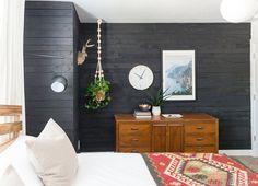 Fake it 'Til You Make it: Black Ship-Lap Wall Using Plywood