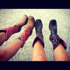 (Alyssa and me!!!) Cowgirl boots are perfect. :) #cowgirlboots #cowboyboots #westernstyle