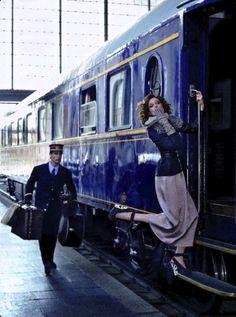 Gordo, Xavi - Coco Rocha- Orient Express- 'Elle, Spain'- Sept. 2012