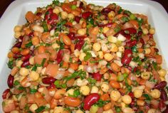 Four Bean Salad (Perfect Mediterranean Diet)