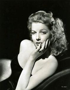An elegantly alluring portrait of Ann Sheridan. #vintage #actress