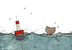Whale and Buoy