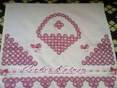 halkalı dantel havlu kenarı 97