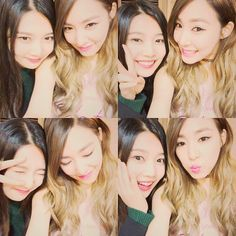 SNSD Tiffany snap cute photos with Red Velvet's Joy