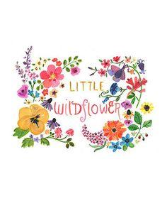 'Little Wildflower' Print