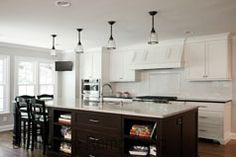 Nice eat-in kitchen Remodeling Contractors, Home Remodeling, Eat In Kitchen, Mudroom, Kitchen Remodel, Kitchen Cabinets, Kitchens, House, Nice