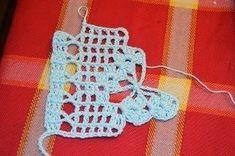 Crochet some butterflies Lindo Crochet Lace Edging, Crochet Poncho Patterns, Crochet Doilies, Crochet Stitches, Crochet For Kids, Crochet Baby, Knit Crochet, Crochet Books, Borboleta Crochet