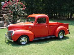 1941 Ford Pickup Truck-1 - feel like I'd see this in Jim Travis's yard :)