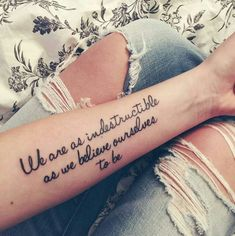 #tatoo #quotetattoo #flowertattoo #phrasestattoo #brastatoué #beautiful #tatouage #womantattoo