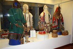 Традиционный костюм хантов фото