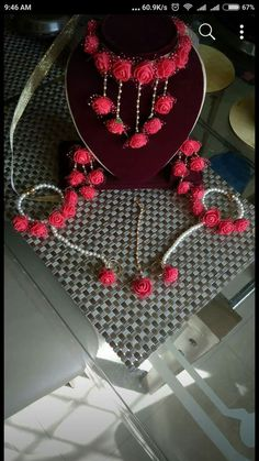 Beautiful Floral Jewellery