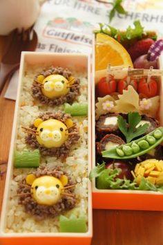 「「お弁当」うずらとそぼろでライオン弁当」naohaha | お菓子・パンのレシピや作り方【corecle*コレクル】