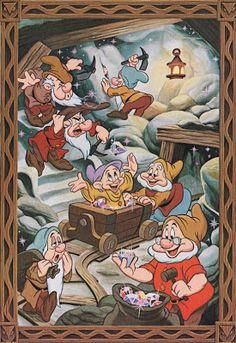 The Cartoon Cave: More Walt Disney World Art