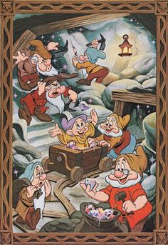 The Cartoon Cave: More Walt Disney World Art