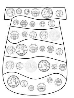 Dr. Seuss money activity-lots of other good first grade ideas