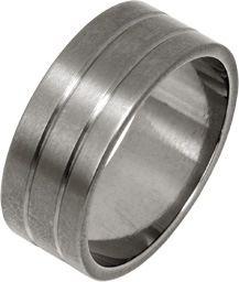 Ti2 Low Profile 8mm Textured Titanium Ring