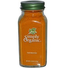 Simply Organic - Turmeric - 2.38 oz.