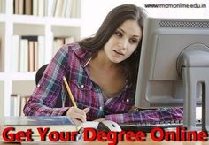 Complete Your Degree Online ~ MCM Online Education