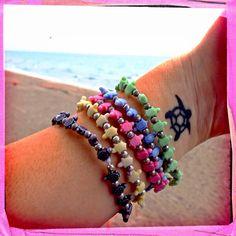 trrtlz bracelets and turtle tattoo
