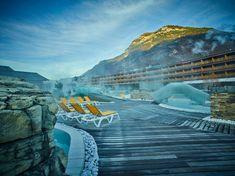 Thermal Park - Bains de saillon Swiss Alps, Hotel Reviews, Trip Advisor, Bath, Building, Travel, Alps Switzerland, Bathing, Construction
