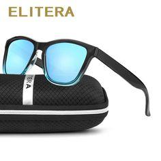 6cf0d5b5ad9c ELITERA New Fashion Polarized Women Sunglasses Famous Lady Brand Designer  Gradient Colors Coating Mirror Sun Glasses UV400 Review