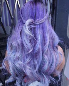 Long+Pastel+Purple+Hairstyle