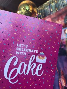 A birthday card, confetti cake & a disco ball. what more could you want out of a birthday party? Birthday Wishes, Birthday Cards, Birthday Parties, Madagascar Vanilla, Confetti Cake, Rainbow Sprinkles, Vanilla Frosting, Best Candles, Disco Ball
