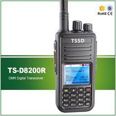 Hot Sell FCC Waterproof Mono Band UHF 5W 1000 CHS Digital DMR Walkie Talkie TS-D8200R