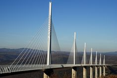 Tallest Bridge in the World: Millau Viaduct, France