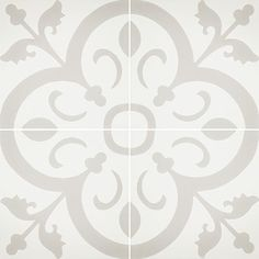 Cement Tiles - Normandy 941 A 8 x 8 Deco - By Granada Tile