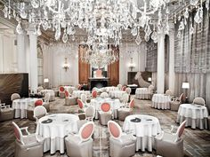 Eat at a Michelin-starred restaurant like Alain Ducasse au Plaza Athénée in Paris.