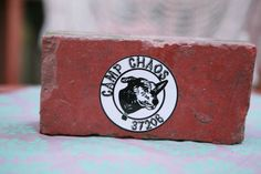 Support the chaos w/a Camp Chaos 37206 Sticker! $3 ea. Great for cars, coolers, & more!