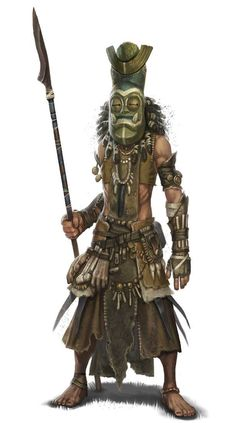 Jigeke - Tribal Warrior - Fighter