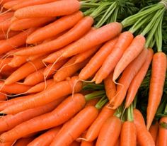 Get vitamin A from raw carrots