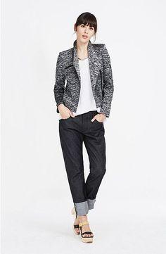 Jaspe Biker Jacket : Jackets & Outerwear : Womens by Armani Exchange