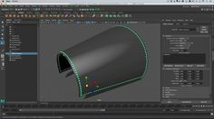 Maya 2017 - Adding rivets to a model with MASH