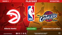 ¡Viernes, viernes, viernes; Atlanta Hawks vs Cleveland Cavaliers está esperandi tu apuesta en Playdoit! 🏀 💰 ¡Regístrate ya! #Playdoit #Doit   > http://www.playdoit.mx